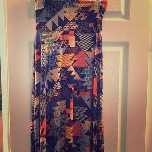 Like new! XS Lularoe Maxi Skirt